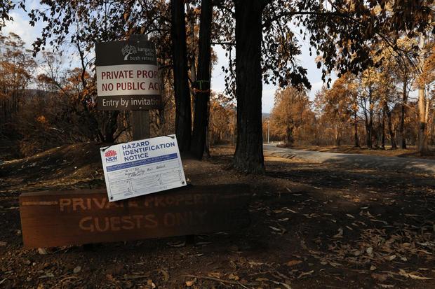 Bush Retreat Entrance